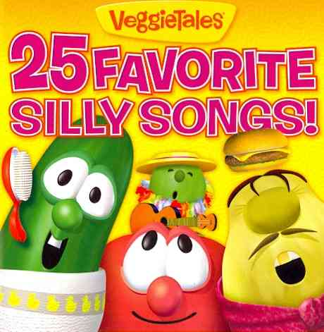 25 FAVORITE SILLY SONGS BY VEGGIETALES (CD)